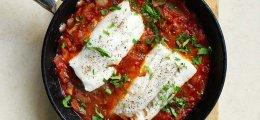 Bacalao con tomate fácil