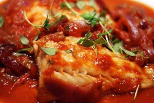 Genial cocinar bacalao con tomate fotos bacalao con for Cocinar cocochas de bacalao